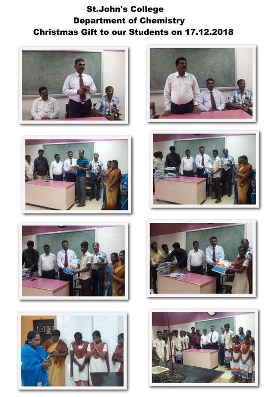 Christmas Gifts For College Students 2019.Christmas Gift To Students St John S College
